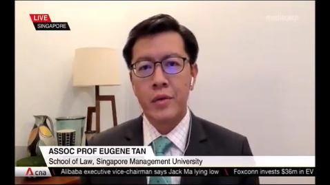 Thumbnail for entry Dickson Yeo detained under ISA, CNA (Singapore Tonight, 10pm), Jun 15