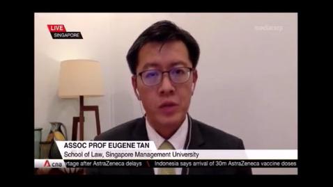 Thumbnail for entry Singapore Leadership Transition, CNA (Singapore Tonight, 10pm), Apr 8