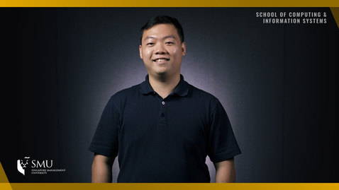 Thumbnail for entry Hear from our BSc (Information Systems): Information Systems Student - CHU Weihao