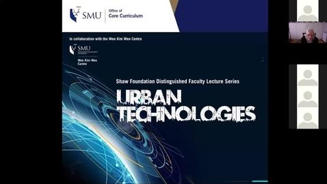 Thumbnail for entry URBAN TECHNOLOGIES