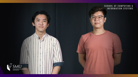 Thumbnail for entry Hear from our Inaugural batch of Computing and Law students (Glenn and Jonathan)