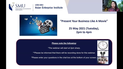 """Thumbnail for entry SME Development Series_Webinar on 25 May 2021 
