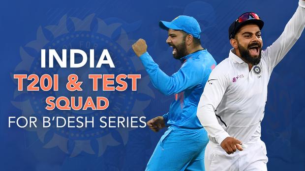 Rohit Sharma Named Captain Virat Kohli Rested For T20is Vs Bangladesh
