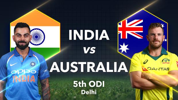 India Vs Australia 5th Odi >> India Vs Australia 5th Odi Preview