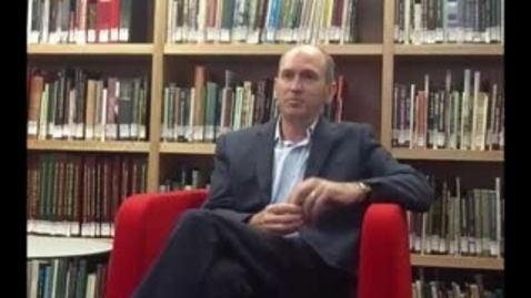 Thumbnail for entry Professor David Lowe - Topic 8