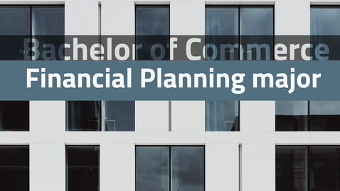 Thumbnail for entry Adrian Raftery introduces the Financial Planning major
