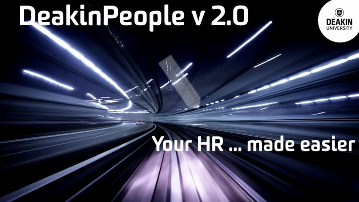 DeakinPeople V2.0