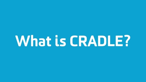 Thumbnail for entry What is CRADLE