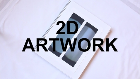 Thumbnail for entry 2.0 - Photographing 2D Artwork