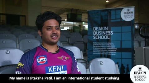 Thumbnail for entry Jitaksha Patil's experience on interning with the IPL's Rising Pune Supergiants
