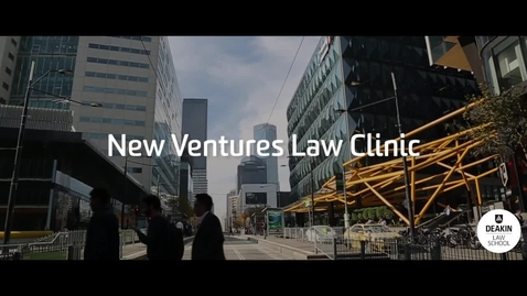 Thumbnail for entry Deakin's Venture Law Clinic providing legal assistance to start-ups