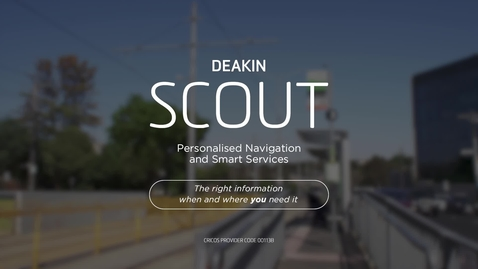 Thumbnail for entry Deakin Scout