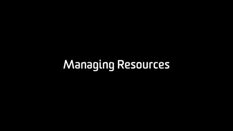 Thumbnail for entry CloudDeakin: Managing Resources (Staff)