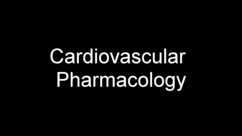 Thumbnail for entry Cardiovascular Medications