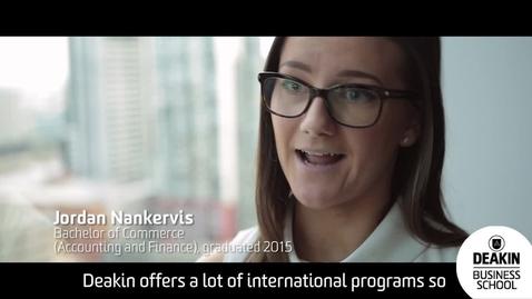 Thumbnail for entry International Study Program 2 years On_Jordan Nankervis