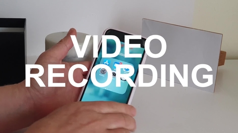 Thumbnail for entry 4.0 - Video Recording
