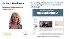 Thumbnail for entry HERDSA - Speaker 3 Dr Fiona Henderson