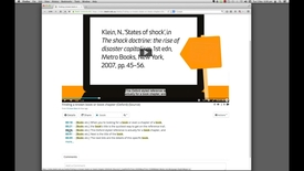 Thumbnail for entry DeakinAir: search within a video using attached captions