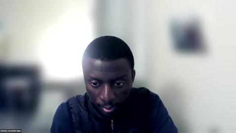 Thumbnail for entry Adeniyi Jeremiah Idigo's Personal Meeting Room