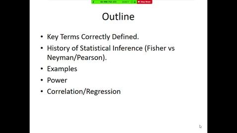 Thumbnail for entry Biostatistics II