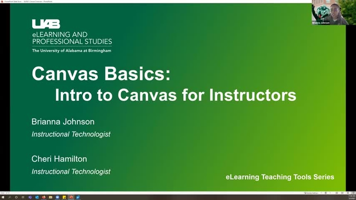 Canvas Basics: Intro to Canvas