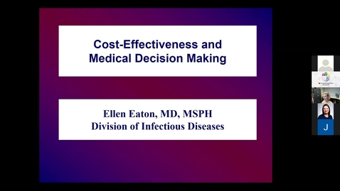 Thumbnail for entry Cost Effectiveness & Medical Decision Making