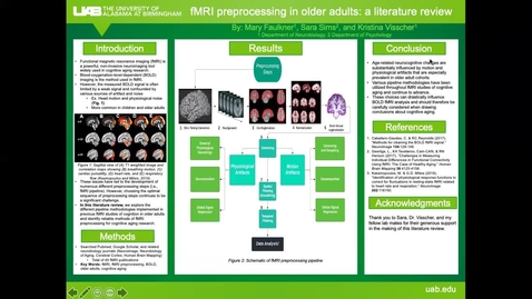 Thumbnail for entry fMRI preprocessing in older adults: a literature review