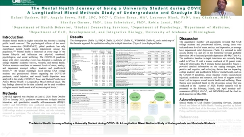 Thumbnail for entry Kalani Upshaw UAB SOPH Virtual Research Poster Presentation
