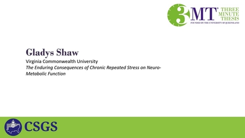 Thumbnail for entry 3MT_Shaw_2021 Regional embedded slide mp4 format