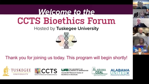 Thumbnail for entry CCTS Bioethics Forum