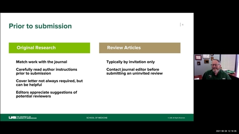 Thumbnail for entry Responding to Journal Editors