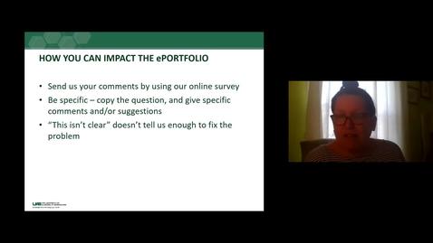 Thumbnail for entry IRB e-portfolio