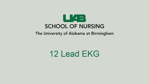 Thumbnail for entry 12 Lead EKG