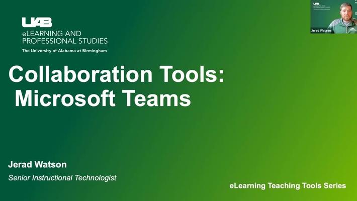 Collaboration Tools: Microsoft Teams
