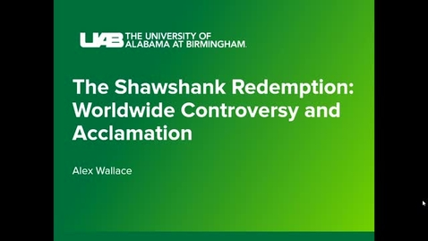 Thumbnail for entry The Shawshank Redemption: Worldwide Controversy and Acclamation