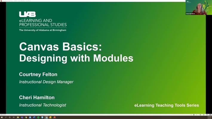 Canvas Basics: Designing with Modules