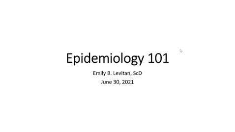 Thumbnail for entry Epi 101: From Epigenetics to Population Health