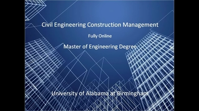 Uab Construction Engineering Management Masters Of Construction
