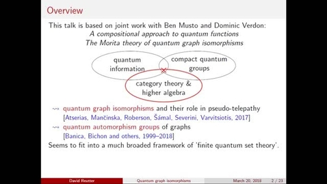 Thumbnail for entry Combining Viewpoints in Quantum Theory, Reutter