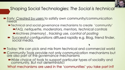 Thumbnail for entry Social Capital and Networked Individualism