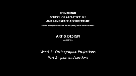 Thumbnail for entry w1--orthographic_projections--part_2