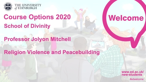 Thumbnail for entry Religion Violence and Peacebuilding