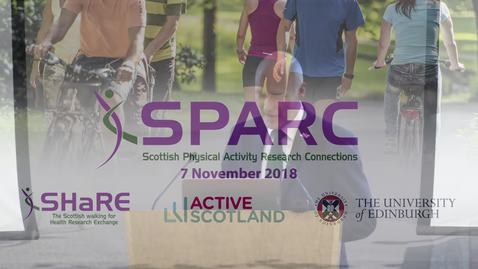Thumbnail for entry SPARC Conference 2018  | Joe FitzPatrick - Active Scotland Delivery Plan