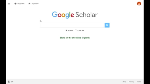 Thumbnail for entry Adding full-text links on Google Scholar