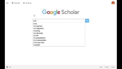 Thumbnail for entry Adding full-text links on Google Scholar
