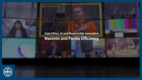 Thumbnail for entry Maximin and Pareto Efficiency