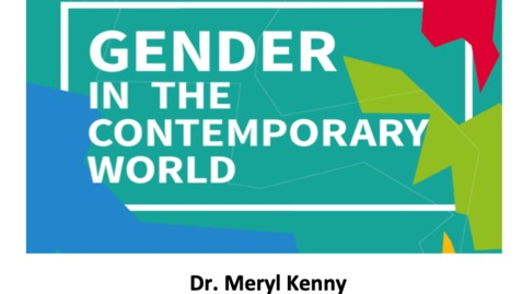 Thumbnail for entry Understanding Gender - Course Options 2020