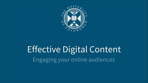 Thumbnail for entry Style Guide - Effective Digital Content