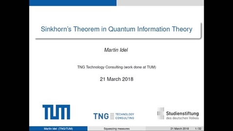 Thumbnail for entry Combining Viewpoints in Quantum Theory, Idel