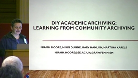 Thumbnail for entry 4 - DIY Academic Archiving: The Ethics, Politics and Practice of Making Open Qualitative Data With Omeka